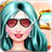 doll fashion-princess dress up icon