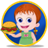 Burger Wraps Cooking Baby Emma icon