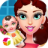 Colorful Lady's Cute Baby icon