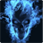 3D Blue Flame Skull live wallpaper 5.0