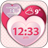 Hearts Weather and Clock Widget 1.2