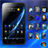 Black Windows 7 Go Launcher Ex Theme