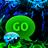 GO SMS Pro Theme green smoke 2.8