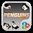 Madagascar Penguins GOLauncher EX Theme v1.0 APK