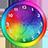 Rainbow Clock Widget 1.3.1