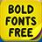Bold Fonts Free 1.3 APK