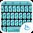 Theme x TouchPal Metallic Blue 10.0