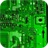 Electronic circuit board. Live wallpaper
