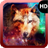 Abstract Wolf Wallpaper icon