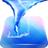 Blue Tornado Live Wallpaper icon