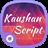 Kaushan Script Font icon