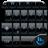 Theme x TouchPal Frame BlackBlue icon