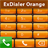 exDialer Orange Theme 1.7 APK