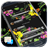 Messages Glass Black Flowers 1.0 APK