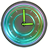 Glow Analog Clock Widget