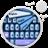 GO Keyboard Blue Diamonds Theme icon