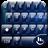 Theme x TouchPal Glass Blue 6.0
