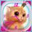 Kitty Analog Clock Widget icon