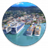 Trendy Antigua and Barbuda icon