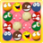 Classic Funny Faces Bubbles Game icon