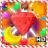 Christmas Fruit Garden : Match-3 icon