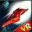 VR space traveler icon