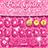 Pink Glitter Keyboard 1.0
