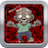 Bloody Zombie Behind Wooden Crate icon