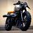 Motor bike Cafe icon