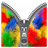 Colorful Wings Zipper icon