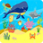 Animals in the Ocean - Nursery Rhymes icon