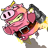 Crazy Rocket Pig icon