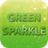 GO SMS Green Sparkle Theme 1.4 APK