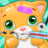 Little Cat Doctor Pet Vet Game icon
