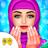 Hijab Fashion Doll Makeup Salon icon