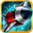 Tunnel Trouble - Space Jet 3D Games icon