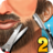 Barber Shop Hair Salon Beard Hair Cutting Games 2