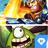 Action adventure icon