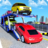 US Police Car Transport:Cargo Truck Games 1.0 APK