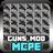 Guns Mods PE icon