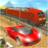 Car vs Train: High Speed Racing Game icon