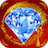 Frozen Jewels Dash Hexagon icon